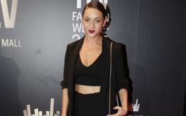 אנה ארונוב בשבוע האופנה
