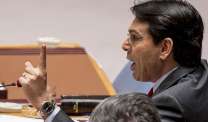 """שגריר ישראל באו""""ם דני דנון במועצת הבטחון"""