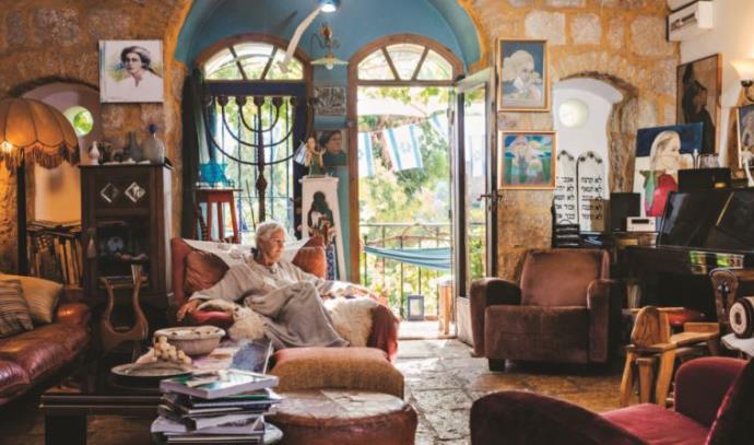 בתים מבפנים: בית האמנית בריגיטה יוארי