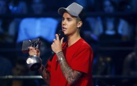 ג'סטין ביבר בטקס פרסי המוזיקה של MTV