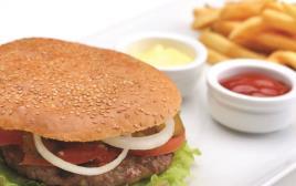 המבורגר: מזון מהיר