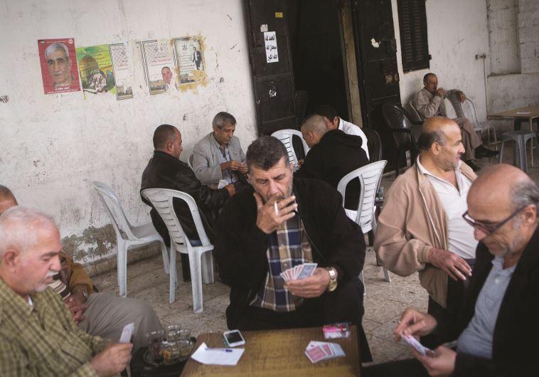 פלסטינים בגדה המערבית
