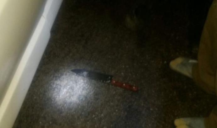 סכין שהייתה בידו של המחבל בחברון, ניסיון פיגוע דקירה
