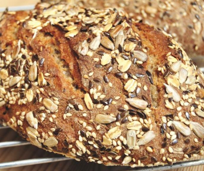 לחם גרעינים משאור