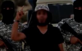 """דאעש בסרטון שני בעברית: """"מלחמת האבנים והעצים"""""""