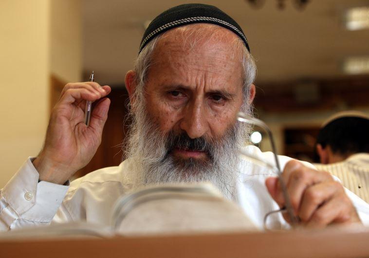 הרב שלמה אבינר. צילום: פלאש 90
