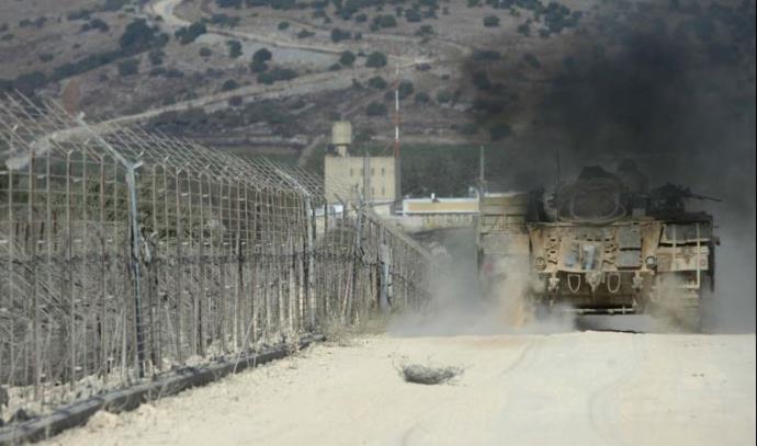 גבול לבנון - ישראל, סמוך לאביבים