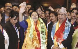 הנשיאה בנדארי, נפאל