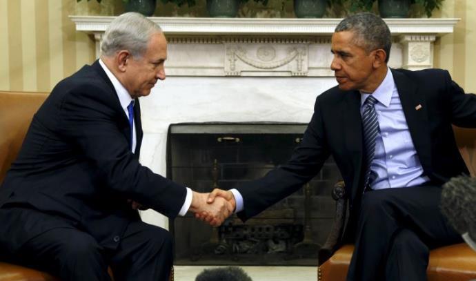 פגישת ברק אובמה ובנימין נתניהו בבית הלבן