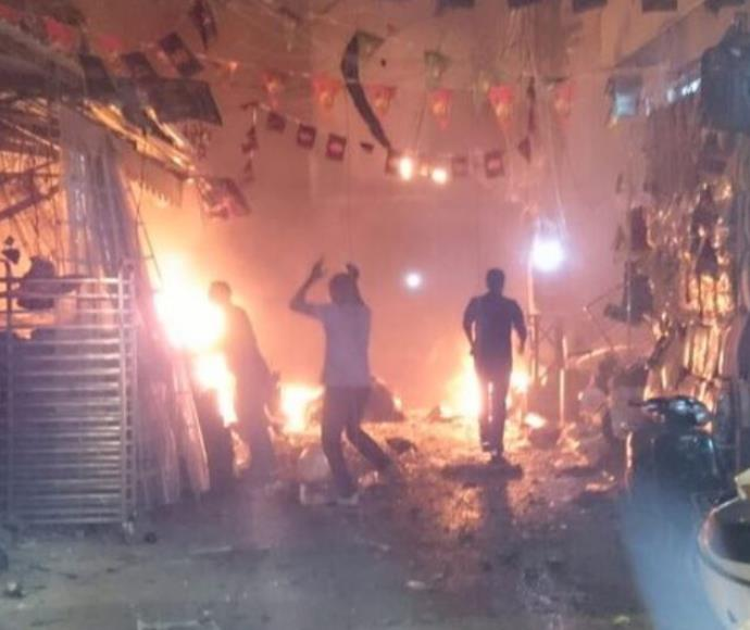 רובע דאחיה בבירות לאחר הפיגוע