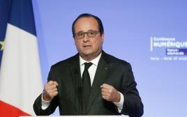 נשיא צרפת פרנסואה הולנד