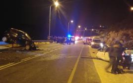 חשד לניסיון פיגוע שהפך לתאונת דרכים ביישוב פסגות