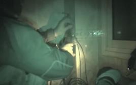 הטמנת חומר הנפץ בבית המחבל בקלנדיה