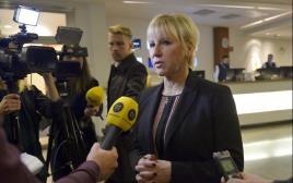 מרגוט וולסטרום שרת החוץ השוודית