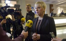 שרת החוץ של שבדיה מרגוט וולסטרום