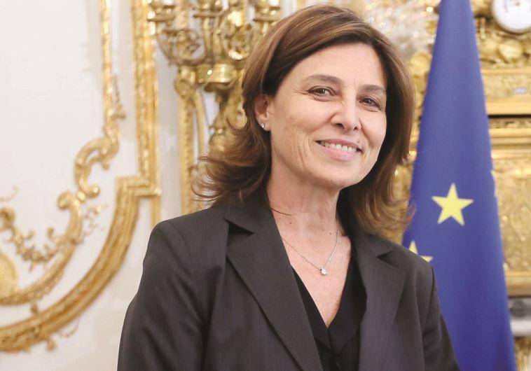שגרירת ישראל בצרפת, עליזה בן נון