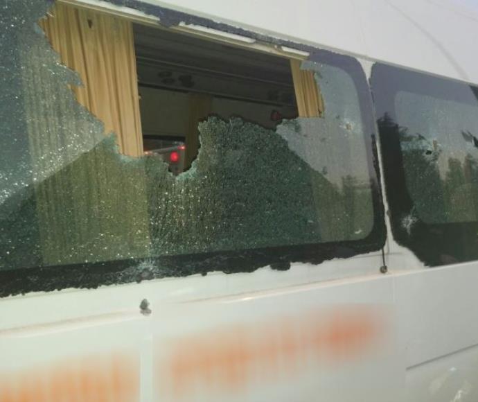 הרכב שנורה, פיגוע ירי בצומת גוש עציון