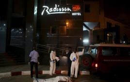 המלון שהותקף במאלי