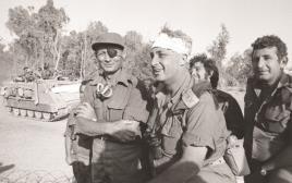 אריק שרון יום כיפור משה דיין