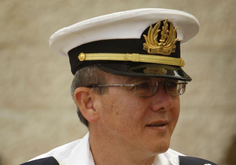 האלוף אליעזר מרום בזמן שהיה מפקד חיל הים  (צילום: מרים אלסטר, פלאש 90)