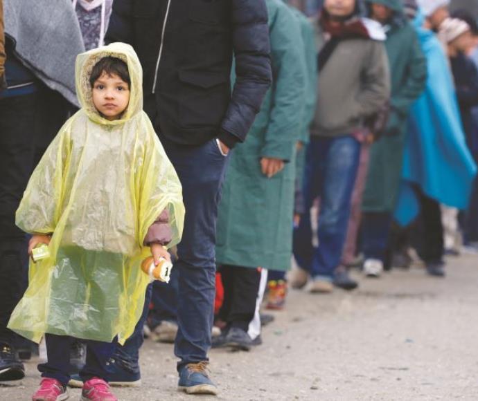 פליטים מהמזרח התיכון ביוון