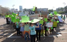 צעדת האקלים בתל אביב