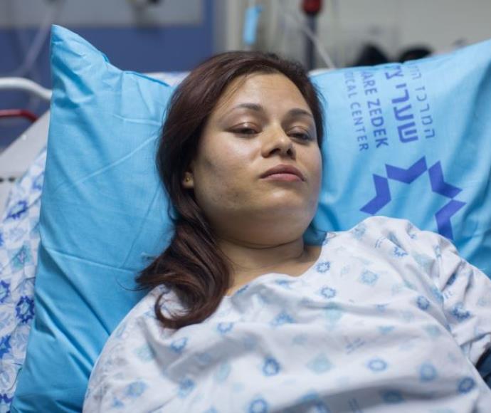 איסורי טלפליה, הפצועה מפיגוע הדקירה ברחוב שמגר בירושלים
