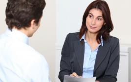ראיון עבודה, אילוסטרציה