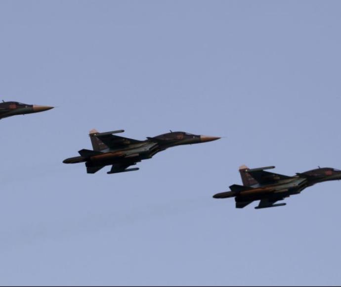 מטוסי סוחוי 34 רוסיים