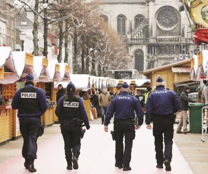 כוחות ביטחון בבריסל