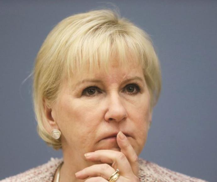 מרגוט וולסטרום, שרת החוץ של שוודיה