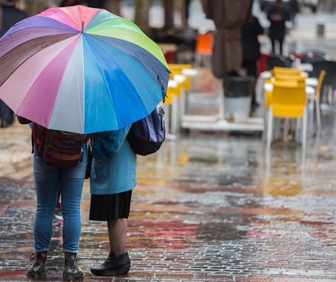 גשם, מזג אוויר, חורף