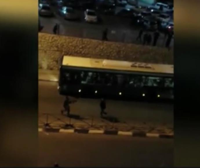 תיעוד הפיגוע בירושלים