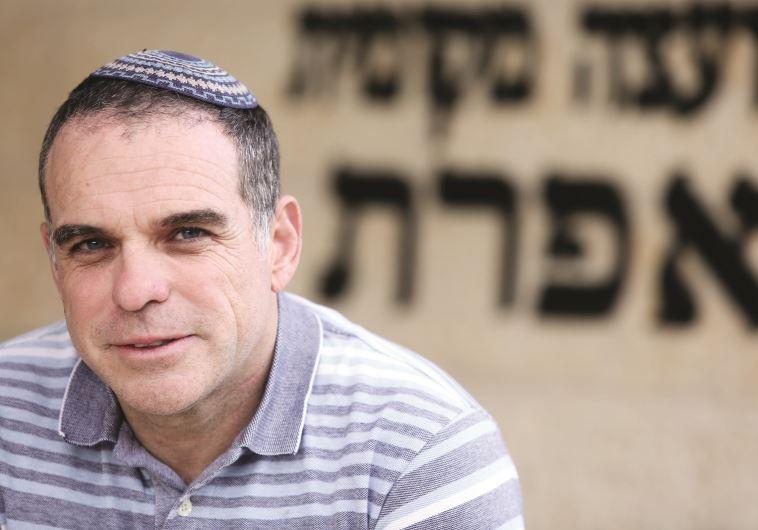 ינאם בעצרת רבין, עודד רביבי. צילום: אריאל בשור