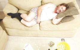 אדם ישן