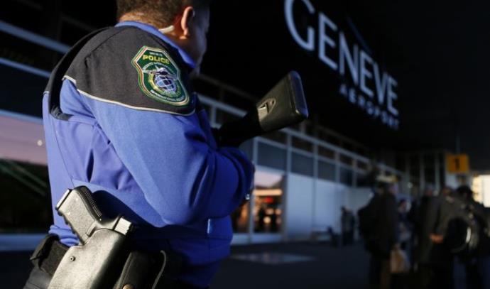 כוחות משטרה בג'נבה