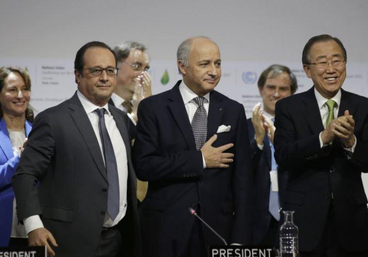 הדור הצעיר יצטרך לדרוש יותר מהמנהיגים שלו, וועידת האקלים בפריז. צילום: רויטרס
