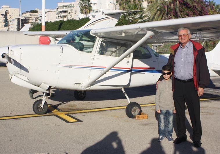 מפקד הטייסת, שיקי שני. צילום: מוטי קמחי