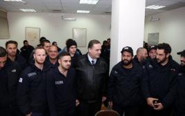 יחידת אבטחת תחבורה ציבורית בירושלים