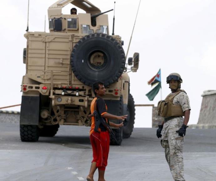 כוחות הצבא הסעודי בתימן