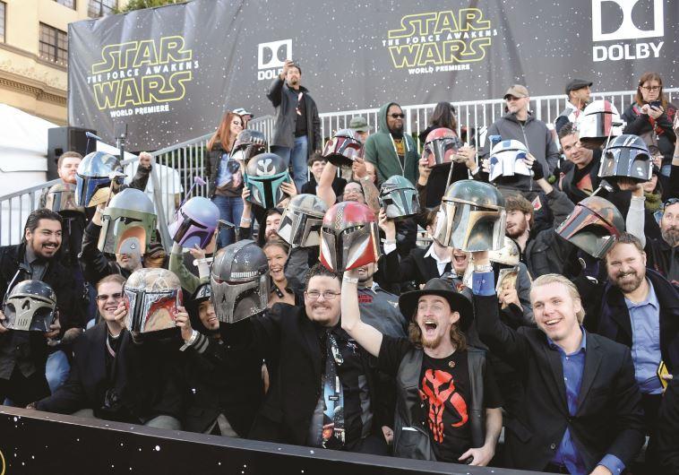 קהל המעריצים בפרמיירה העולמית בהוליווד
