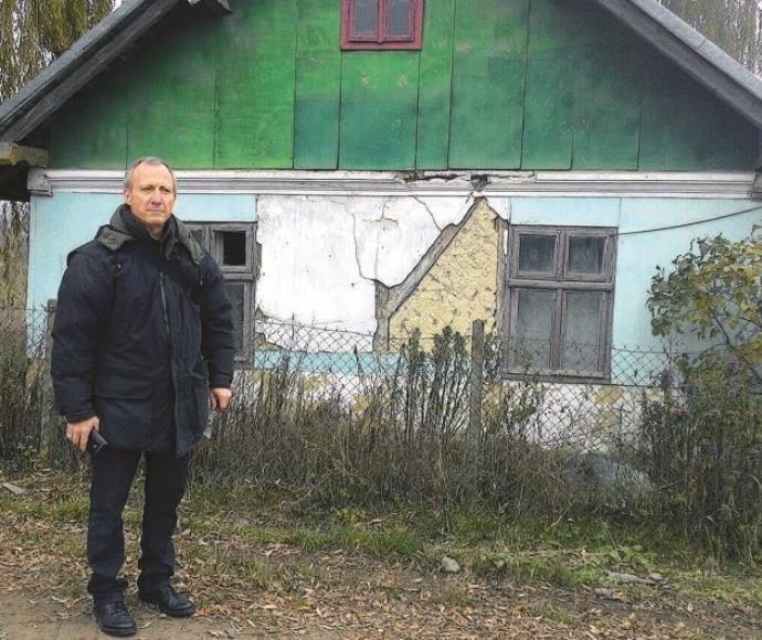 עו״ד דוד יהונתן גרינברג בנו של אצ״ג בעיירה של אביו בגליציה אוקראינה