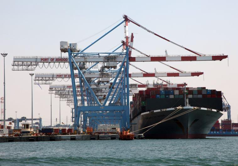נמל אשדוד (צילום: אלוני מור)