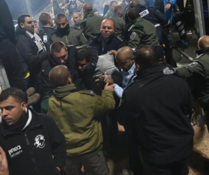 אלימות במגרשי הכדורגל