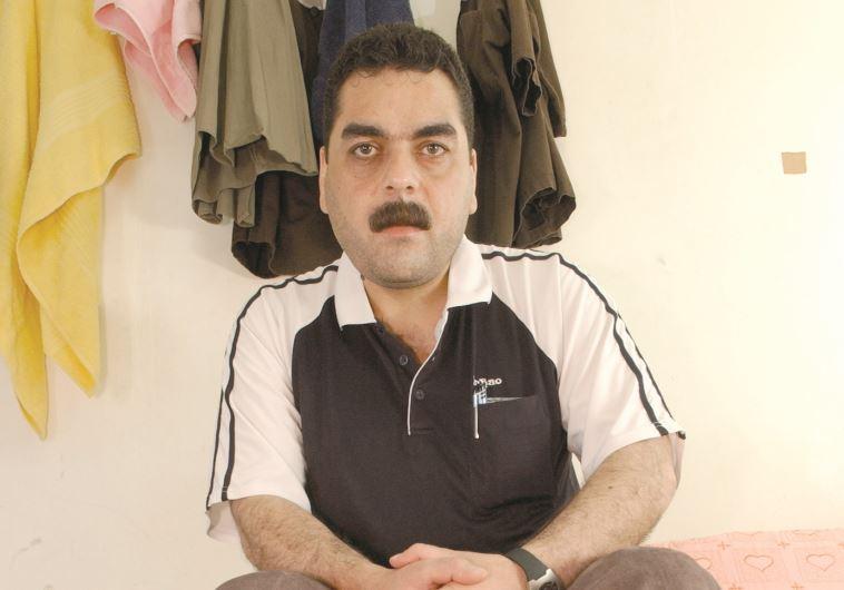 סמיר קונטאר בכלא הישראלי. צילום: ראובן קסטרו
