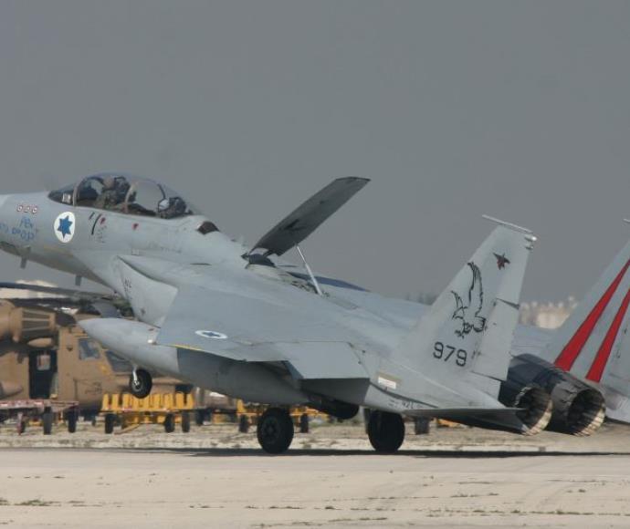 מטוס F-15 של חיל האוויר