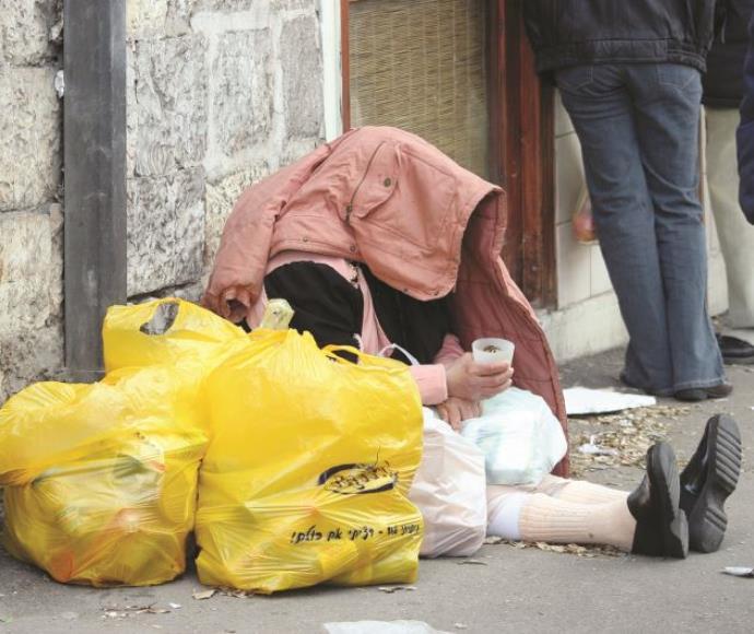 חסר בית, עוני