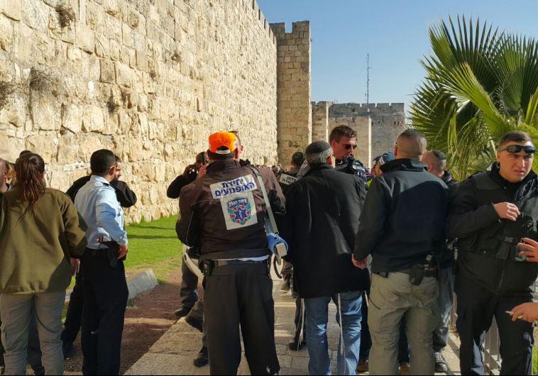 פיגוע בשער יפו. צילום: אורי דייויס - דוברות איחוד הצלה