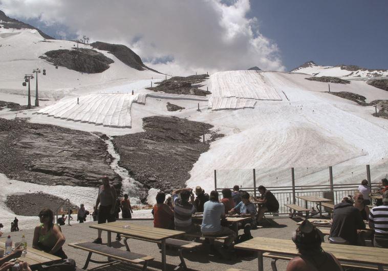 תנאי הסקי הטובים באוסטריה. הינטרטוקס. צילום: מאיר בלייך