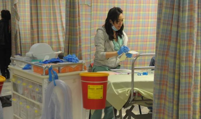 חדר מיון, בית חולים אסף הרופא